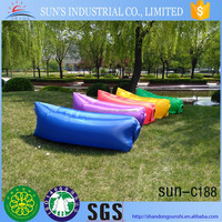 2016 new fashion inflatable lamzac kaisr air hangout sleeping bags,air bed inflatable banana