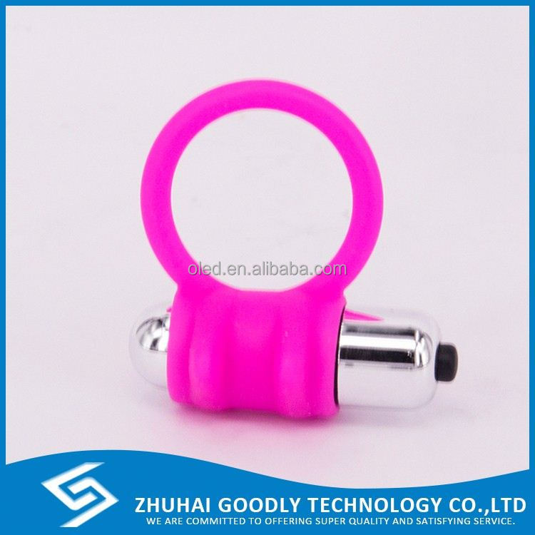 Extendable Size Beautiful Shape Cock Ring Best Cheap Penis Vibrator Sex Toy