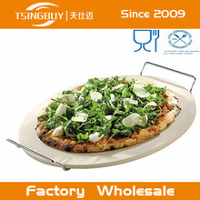 Bakware durable Pizzacraft cordierite pizza baking stone/pizza oven stone/b&q pizza stone