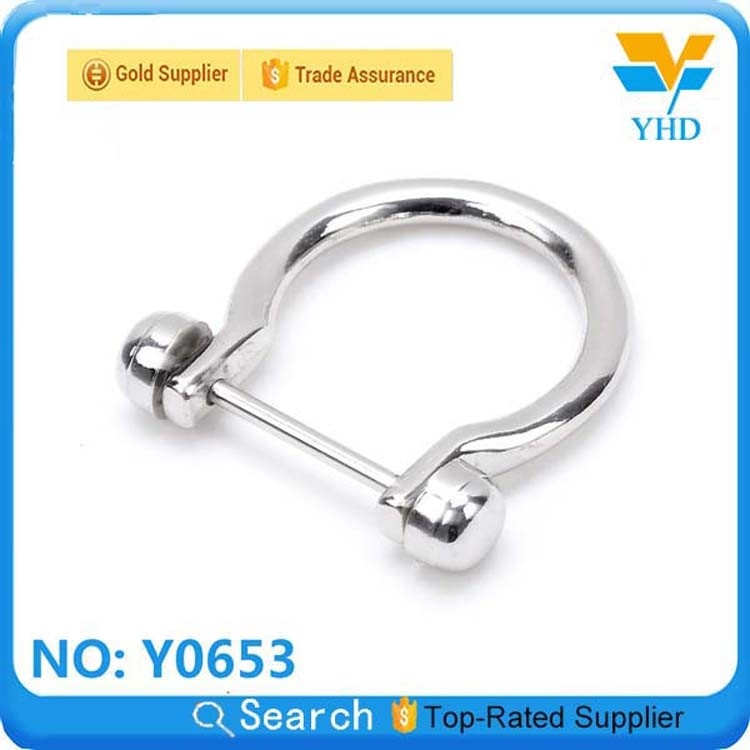Fashion Handbag D Ring Buckle accessory for bag fitting
