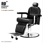 "Whole sale quality beauty salon equipment ""SALLY"" styling barber chair stainless steel arm"