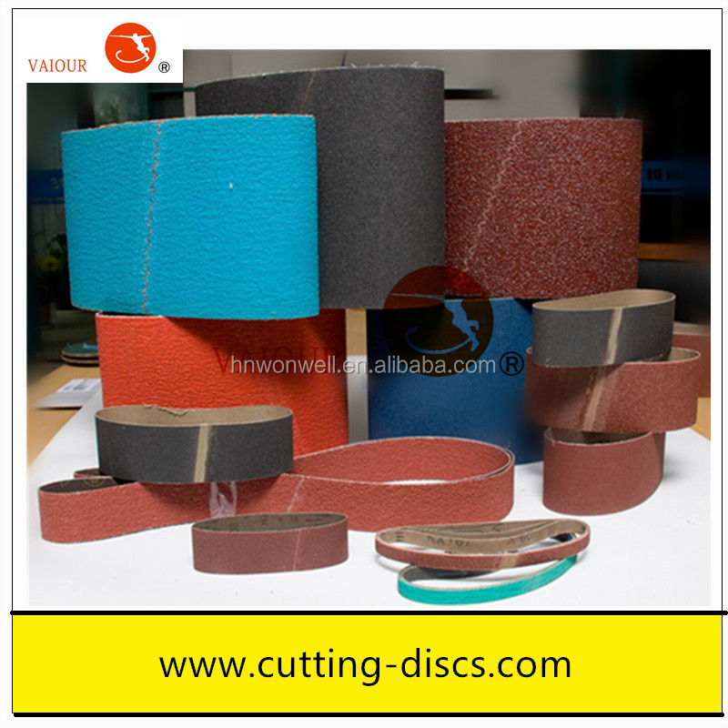 100x610mm abrasive belt sanding belt for wood & metal grinding