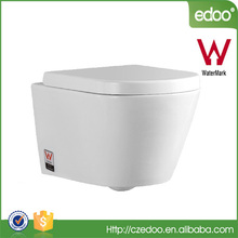 Australia Watermark Wall Hung Toilet Ceramic Material And Square Shape Water Closets