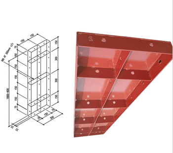 TSX-17-SF2046 steel column formwork/template for construction
