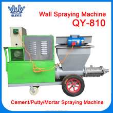 China Factory Putty Plaster Cement Mortar Spraying Machine with 10m High Pressure Pipe