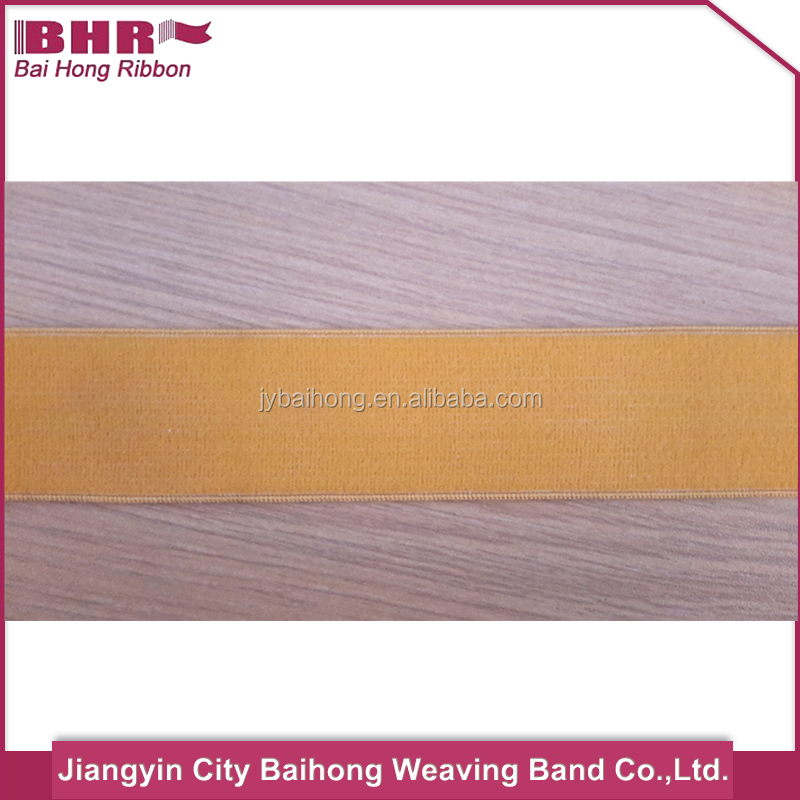 Heavy elastic webbing coloured elastic for garment tape