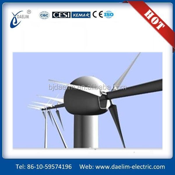 Daelim 500kw wind turbine prices