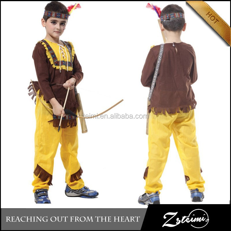 Manufacturer and Wholesale Christmas Children's Swordsman Design Costume Halloween Party Gift
