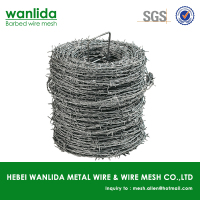 Anping factory fence barbed wire ( SGS Certification )