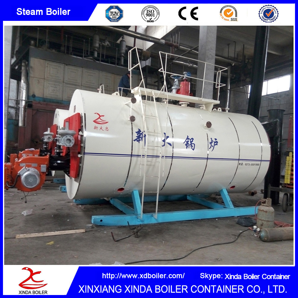 China Made Industrial Heating Boiler Heavy Oil or Gas Fired Steam Boiler