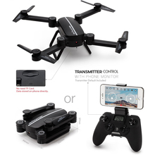 Sky Hunter X8TW Foldable Rc Selfie Drone HD Camera Wifi FPV 0.3MP HD Camera Altitude Hold Headless Mode RC Quadcopter Drone