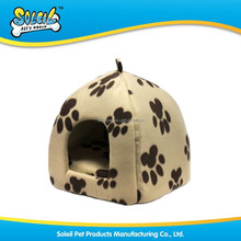New Design Durable Luxury Cotton Pet House With Pattern