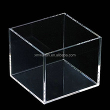 Top open Clear square acrylic box