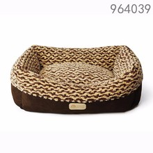wholesale alibaba best selling products new premium dog kennel soft warm brown luxury pet dog cat house beds in the bed room