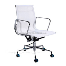Triumph Adjustable Stainless Steel Base Office Chairs /Modern Rotatable Office Chair boss chair