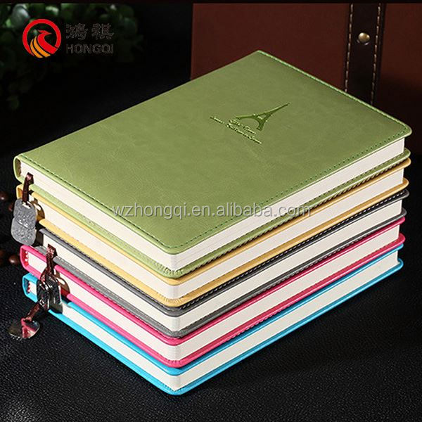 A009-A Alibaba express cover agenda in print,agenda 2016 with leather cover,daili agenda planner