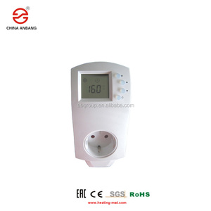 Digital plug-in thermostat far infrared heater controller socket thermostat for underfloor heating system
