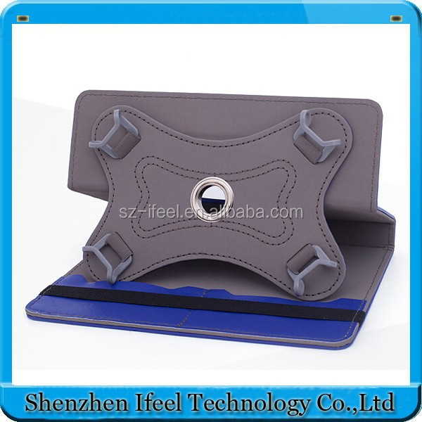 360 degree rotation 9.7 inch universal tablet pc case with 4 durable hook