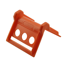 100mm PVC Sharp Orange Pallet Corner Protector <strong>Plastic</strong>