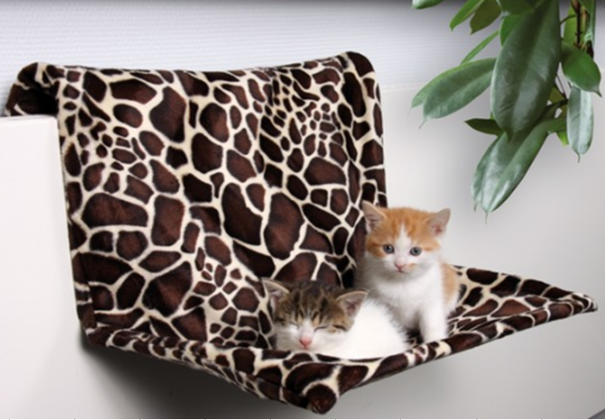 Hot sale hitting plush cat hammock