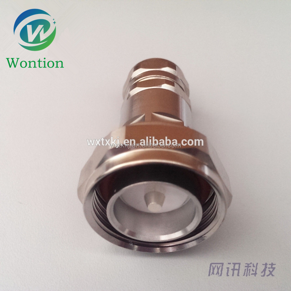 "CHINA SUPPLIER OEM DIN MALE CONNECTOR FOR 1/2"" SF CABLE"