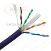 Retractable Cat6 UTP lan cable with copper and PVC jacket suitable for networking