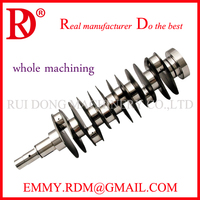 Customized Crankshaft 4340 Billet Cranks Manufacturer