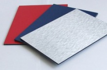 Exclusively for the use of kitchen equipment aluminium Wood composite panel