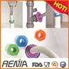 RENJIA Washing machine drain pipe rubber corrugated pipe clear/custom silicone rings
