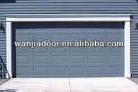 sectional garage door/tilt up garage door/foshan wanjia brand