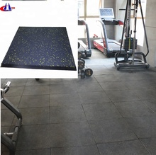 Low price 15-50mm thick rubber fitness gym flooring