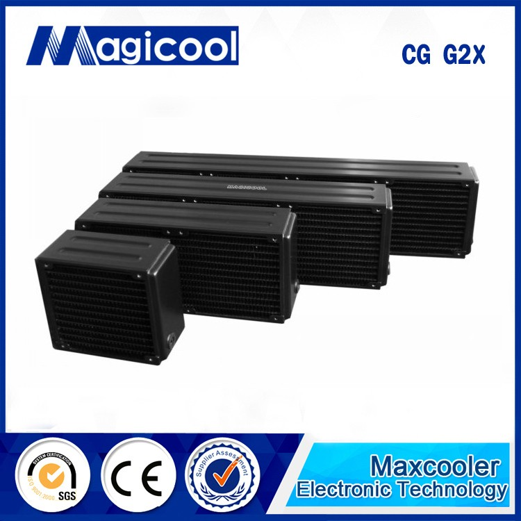 Best Quality Copper Radiator for computer or cpu 65mm thickness CG G2X , Liquid cooling radiator
