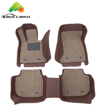 2017 Heated 6D car mats for cars with easy-clean coil mat
