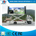High quality p10 full color outdoor led curtain display screen