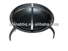 barbecue wire mesh with double use