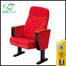 Alibaba chairs modern wooden auditorium chair with writing pad theatre seats