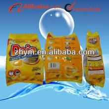 Daia OEM washing detergent powder 2.5kg