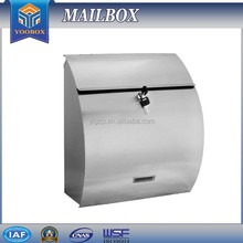 2017 YooBox Stand Stainless Steel Mailbox/Letterbox/Post Box for Magazines