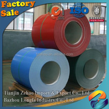 Prime 0.13 mm thick color coated steel coil ral 9012 ppgi buyer
