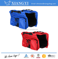 Outdoors Pet Puppy Bag Saddle Harness Pack Travel Camping Dog Backpack