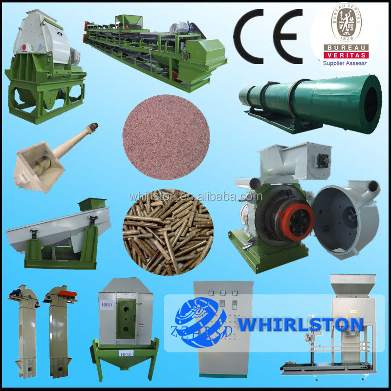Wood pellet press machine