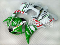 for yamaha 2004 yzf r6 bodykit 2003 2004 2005 yzf r6 03 04 05 r6 fairing kit r6 05 r6 race fairings yzf r6 white green