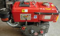 small water cooled single cylinder diesel engine 12 hp diesel motor