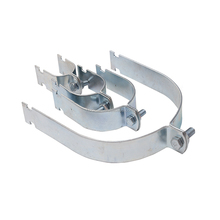 High Quality 3/8 Inch Zinc Plated Bracket Strut Pipe Clamp