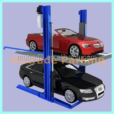 Mutrade 2 Floors parking solutions autos electricos