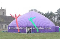 outdoor large inflatable dome tent