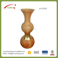 home & garden gold wooden effect ceramic onyx marble vases, pottery vases