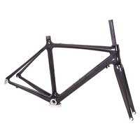 2017 Deng fu popular and customized logo chinese carbon road bike frame