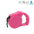 deft design colorful adjustable high quality puppy retractable dog collar leash