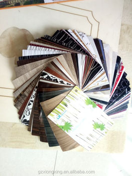 PVC decorative film sample